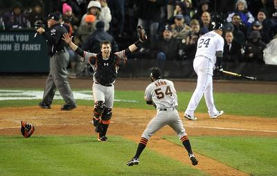 MLB: World Series-San Francisco Giants at Detroit Tigers