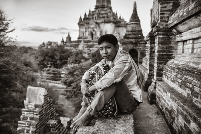 Lili, boy of Bagan