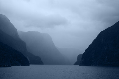 Misty Blue Fjords