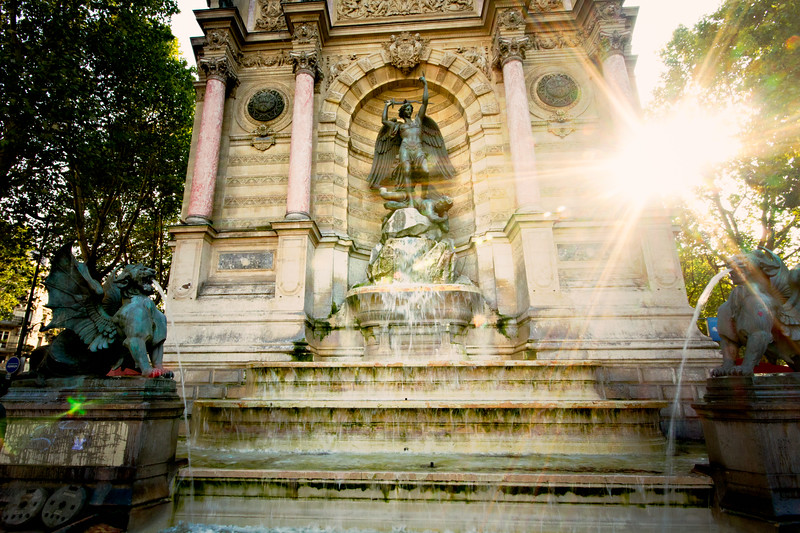 { parisian fountain }