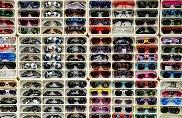 Self Portrait in Horn Rimmed Sunglasses