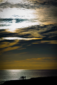 Dramatic Sunset, Sea Ranch, California