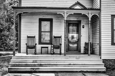 Front Porch - West BRanch, Iowa