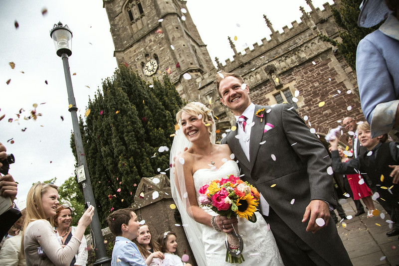 The wedding of Caroline and Richard Bignell 7 June 2013