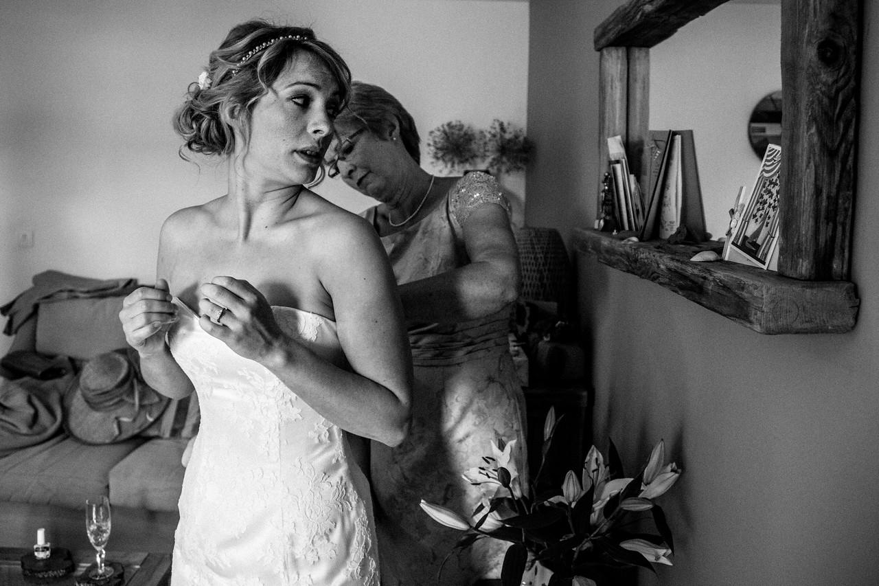 The wedding of Caroline and Richard Bignell 7 June 2013