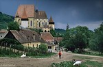 <h4>[ROMANIA.TRANSYLVA 24.187] <br>'Fortified church.'	</h4> The Saxon fortified church of Biertan, built in 1516, is on UNESCO's World Heritage List. It was the seat of the Lutheran bishops who administered the German settlers of Transylvania. Photo Mick Palarczyk.