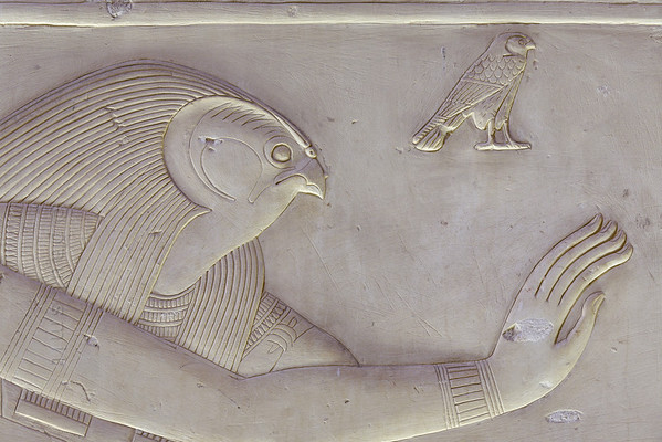 [Egypt 29960] 'Horus in Ptah-Sokar Chapel at Abydos.'