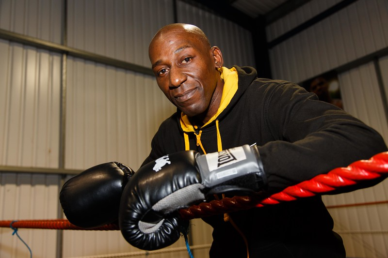 Combat and Excerise Centre - Andy Halder will be taking part in a charity boxing match