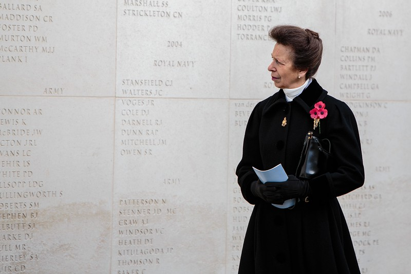 National Memorial Arboretum Remembrance Day 2015