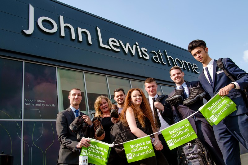 John Lewis three peaks challenge for charity