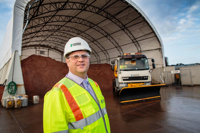 Walsall Council Depot, Brownhills - Cllr Lee Jeavons - Winter grit store