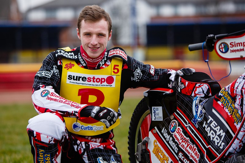 Birmingham Brummies Speedway Team - Tom Perry