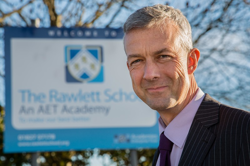 Rawlett School Head Teacher Tim Bassett