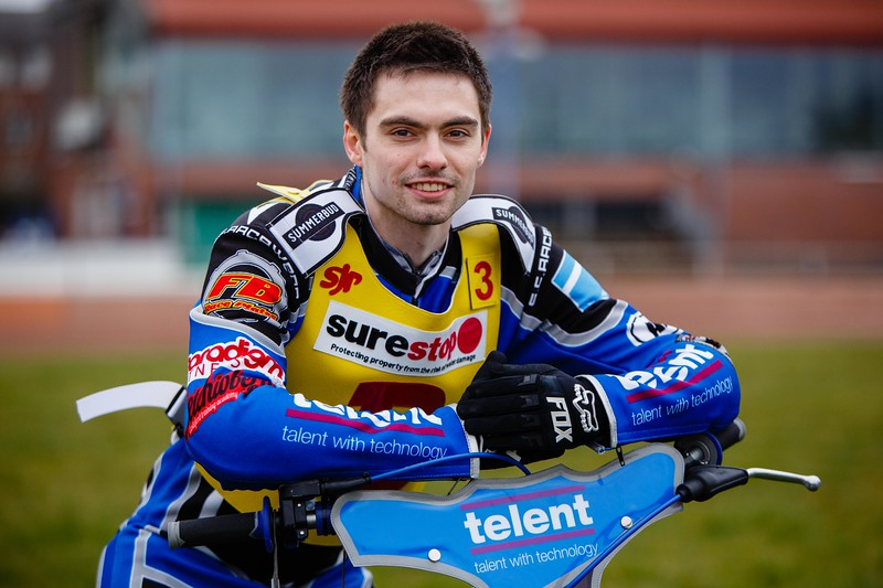 Birmingham Brummies Speedway Team - Tom Bacon