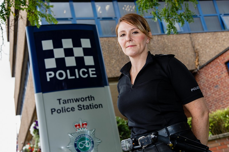 SGT. Karen Green, Tamworth Police