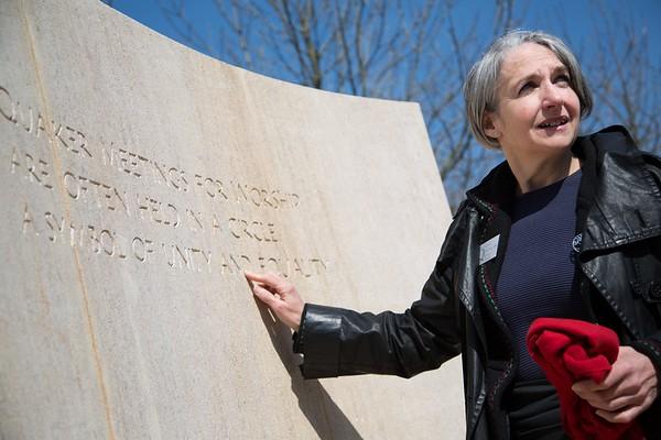 QSMT - Quaker Memorial Inauguration - National Memorial Arboretum - 20 April 2013