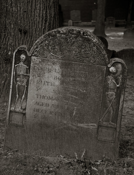 The Old Granary Burial Ground, Boston MA