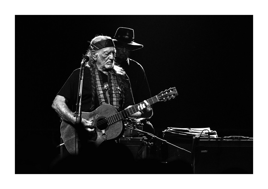Willie Nelson and Paul English