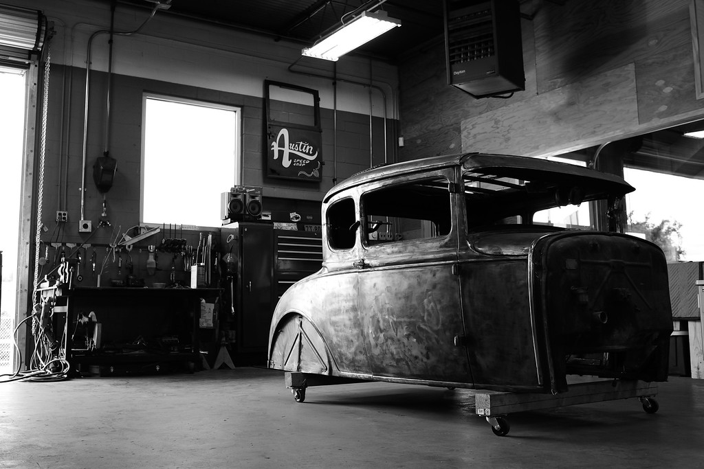 5 window Ford Project for Austin Speed Shop