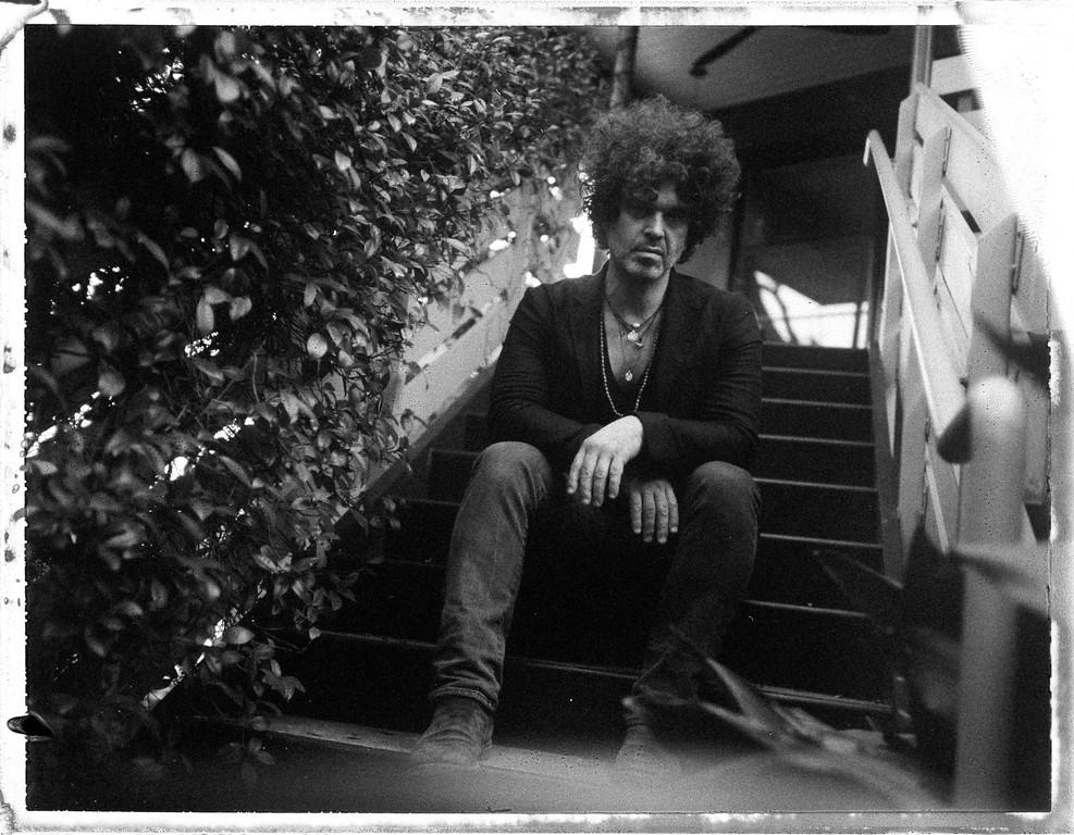 Doyle Bramhall ii (polaroid - fujifilm fp3000b)