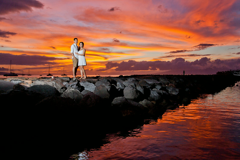 Lahaina Town Engagement Session