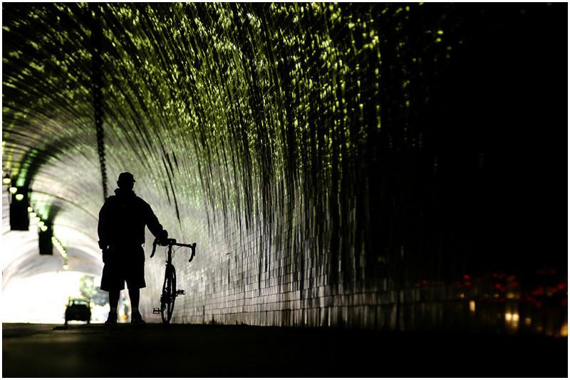 Lifestyle/Environmental Portraiture<br /> Los Angeles Bike Messenger, Ruben Martinez