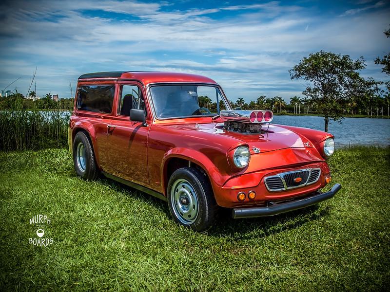 Frank Van's 64 Ford Anglia