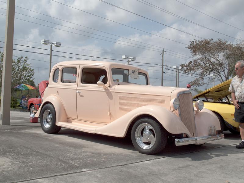 1934 Beige Chevy Sedan