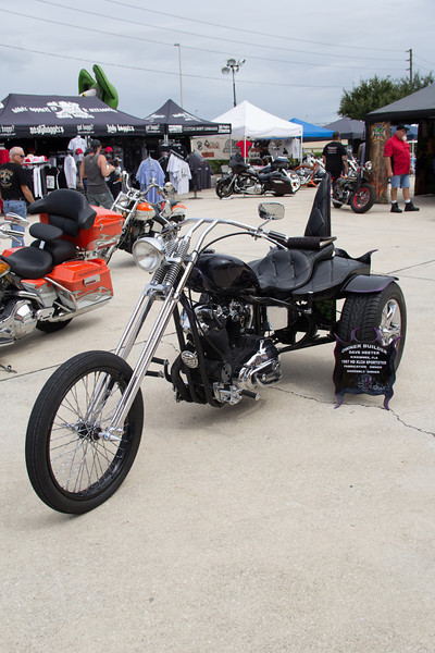Dave Heeter's 67 HD Sportster Trike