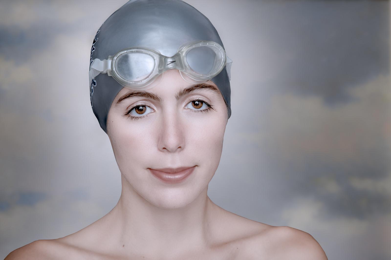Olivia, swimmer