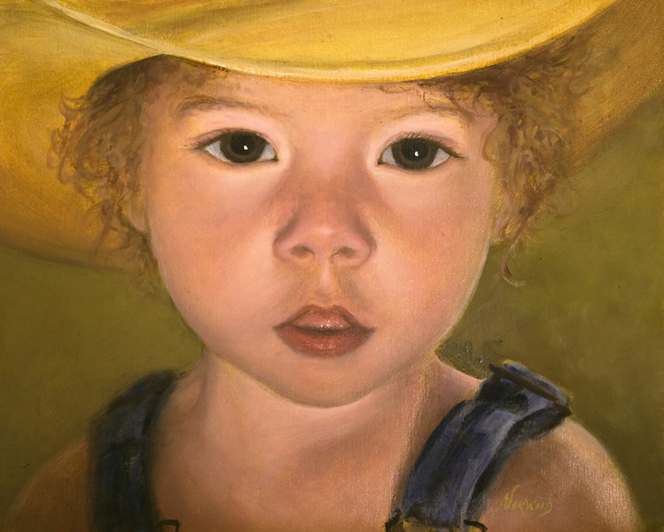 Izzy<br /> 8x10<br /> Oil on canvas