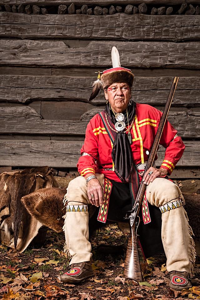 Mike Pace, Lenape Elder