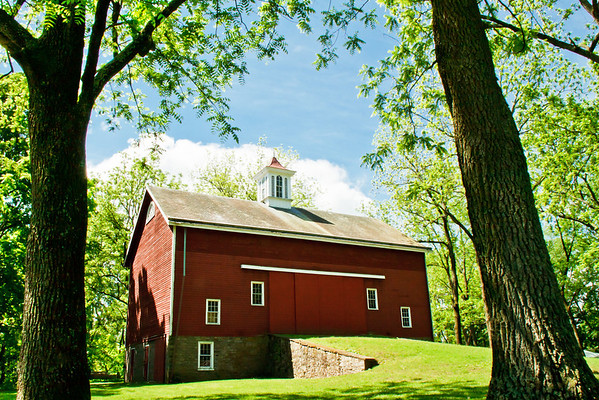 The barn at Tinicum