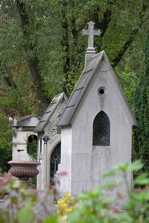 Pere Lachaise cemetery, Paris France
