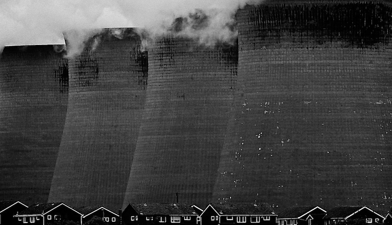 Ferrybridge power station, Yorkshire