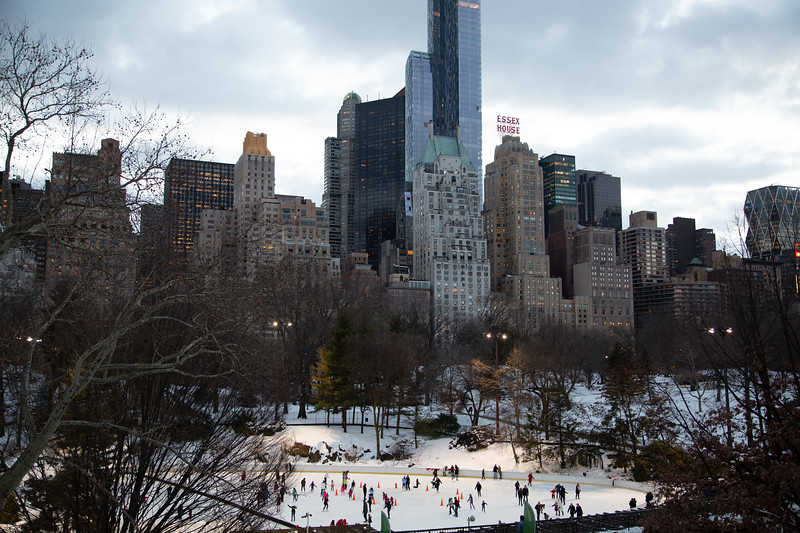 Ice rink, Central Park