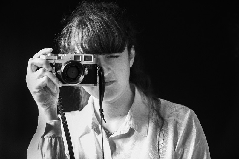 Girl with Leica