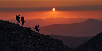 Into the Sunset Smoke