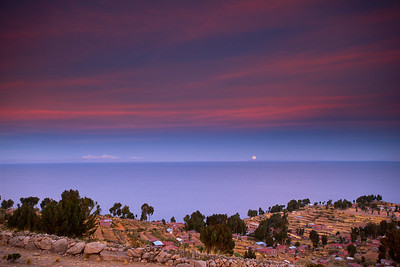 Lake Titicaca Moonrise