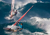 Image © 2011 Ralph Mawyer, Jr.|| Windsurfers on Ho'okipa Bay, Maui, HI, 22 Feb 2011.