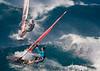 Image © 2011 Ralph Mawyer, Jr.|| Windsurfers on Ho'okipa Bay, Maui, HI, 22 Feb 2011.