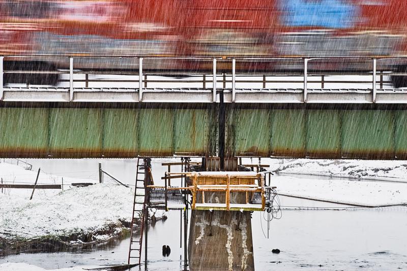 Train bridge, Bosler, WY, 2011<br /> © Edward D Sherline