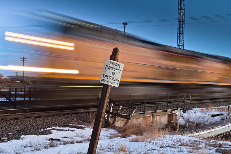 Train, 2012<br /> © Edward D Sherline