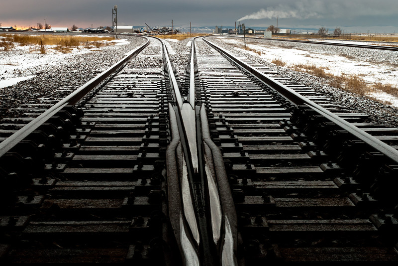 Train tracks, 2012<br /> © Edward D Sherline