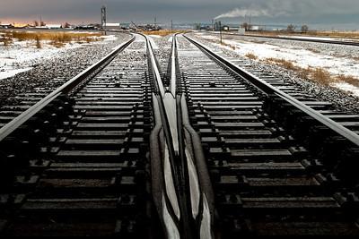 Train tracks, 2012 © Edward D Sherline