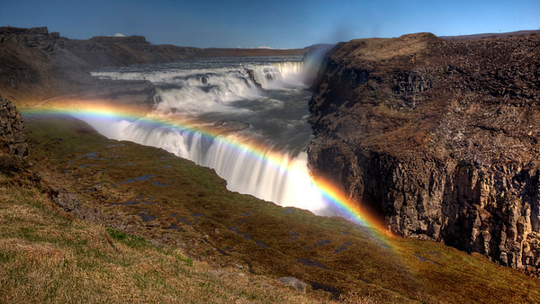 Gulfoss Mistbow