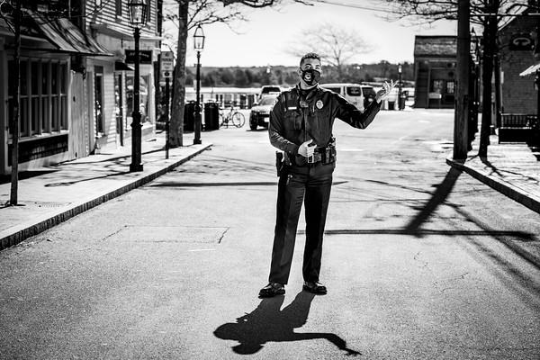 """I grew up here. I love this job."" - Officer Tyler Moreis, Edgartown Police Department."