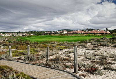 Storm and Golf Course at Asilomar