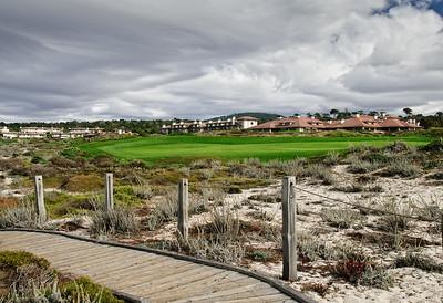 Storm and Golf Course at Asilomar