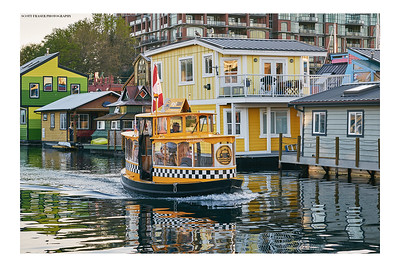 The Water-Taxi on a Spring Evening